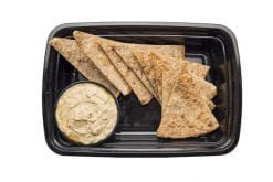 Wheat Pita Chips and Hummus