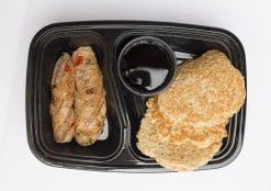 Protein Pancakes Chicken Sausage