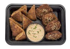 Falafel with Hummus and Pita Chips
